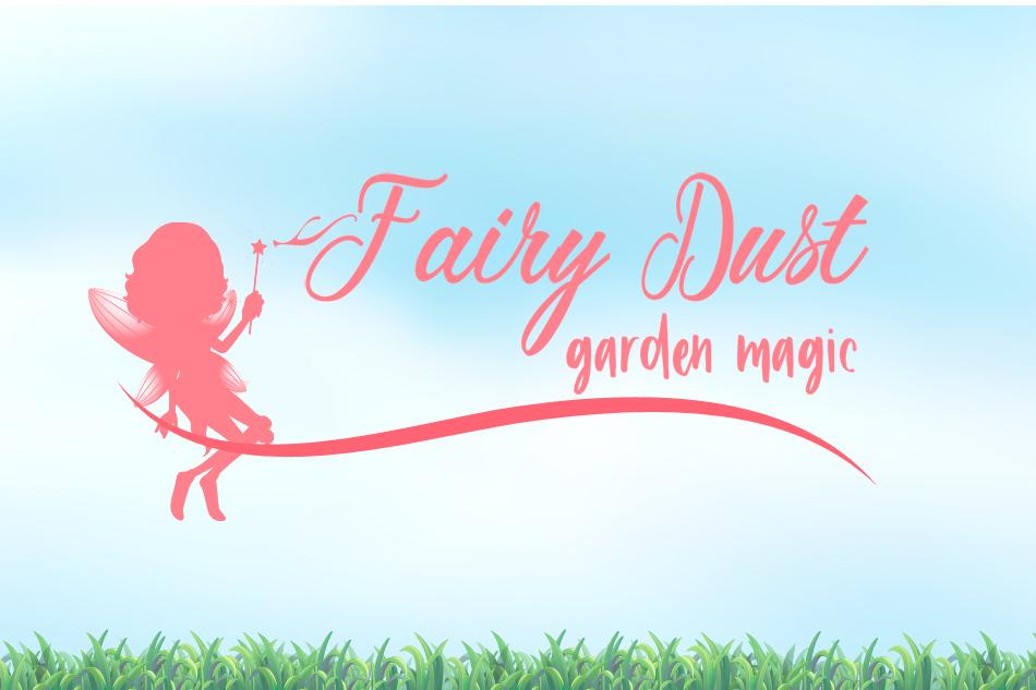 Fairy Dust garden magic logo
