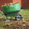 Wheelbarrow booster tripled the size of this wheelbarrow