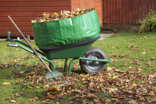 Wheelbarrow booster tripled the size of this wheelbarrow