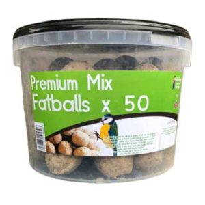 Tub of 50 premium mix fatballs