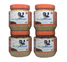 4 Jars Nut Pecker Bird Food