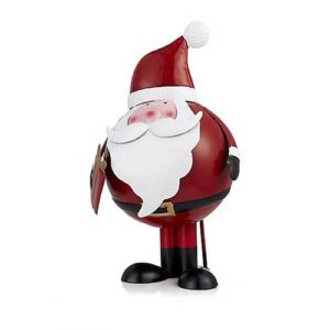 Bobbing Father Christmas Character from The Grumpy Gardener