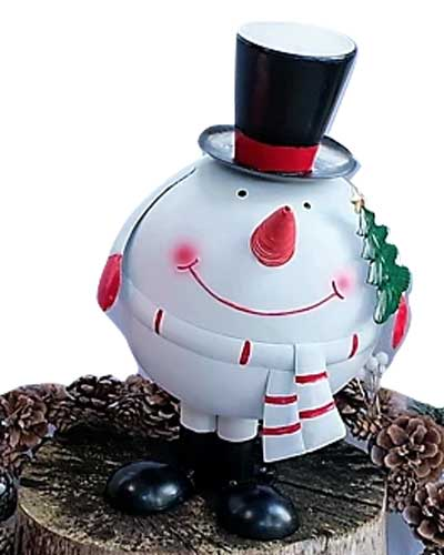 Bobbing Snowman from The Grumpy Gardener