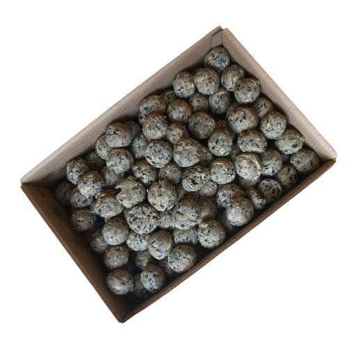 An open box of 150 deluxe mix fatballs